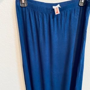 Mid length maxi skirt
